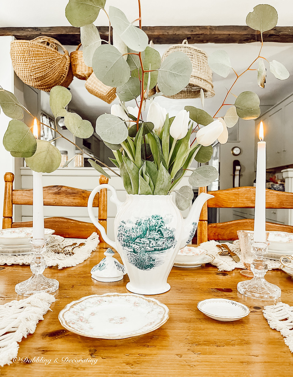 How to Style a Timeless Spring Table