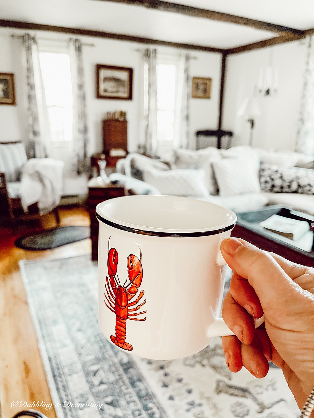 A Heartfelt Week in Maine Thrifting and Decorating