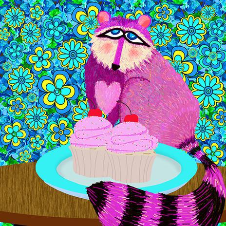 Raccoon & Cupcakes