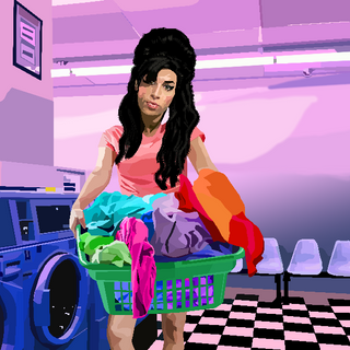Amy Does the Laundry