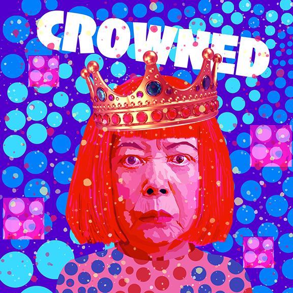 crowned Yayoi Kusama
