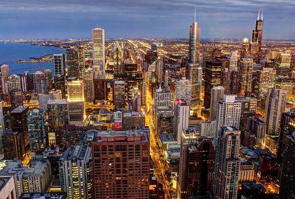 Chicago Skyline from John Hancock Center