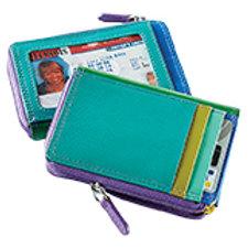 ILI NY RFID Zip Card Case