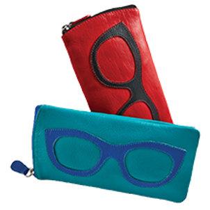 ILI NY Leather Eye Glasses Case