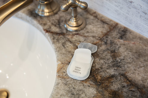 Travelon Clean Hand Soap Sheets