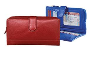 ILI NY RFID Wallet/Zip Phone Pocket