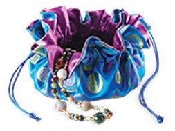 Cathayana Fabric Jewelry Bag