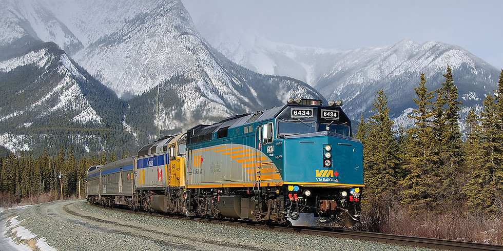 FREE Online Presentation: Trans Canada Train! Thursday August 5, 2 p.m.