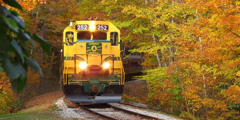 FREE Online Presentation: Fall Foliage in New England by Train