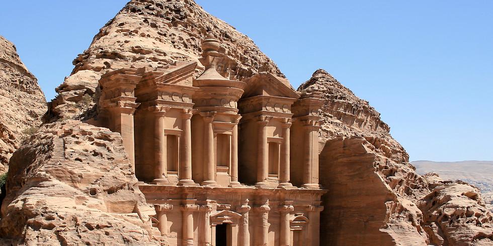 FREE Online Presentation: Israel & Jordan - Thursday July 30, 2 p.m.