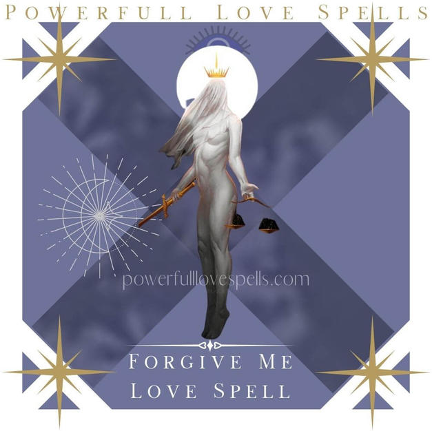 Forgive Me Love Spell