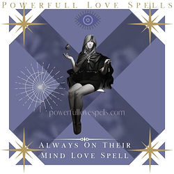 Always On Their Mind Love Love Spell (1)