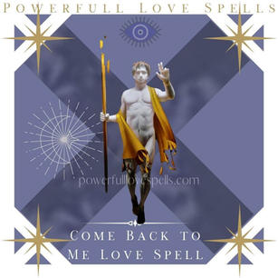 Come Back To Me Love Spell