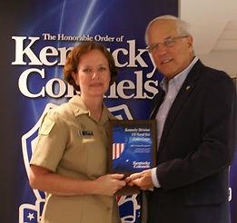 Kentucky Colonels Grant Presentation