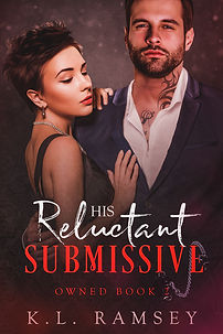 His Reluctant Submissive front  cover Jp