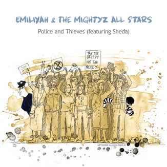 CD COVER - 'POLICE and THIEVES'