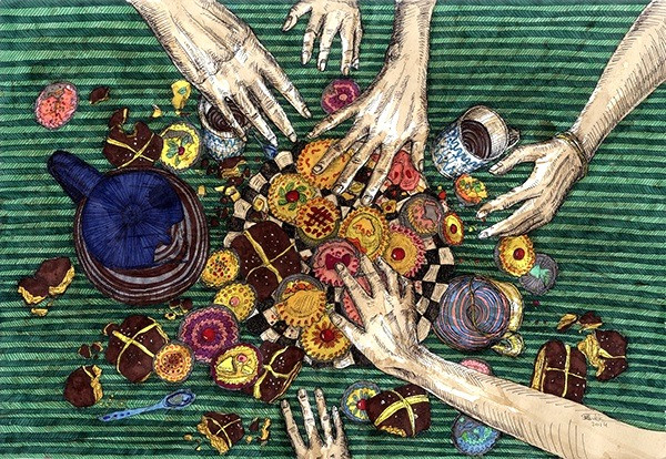 Earthly Delights. Tea Time