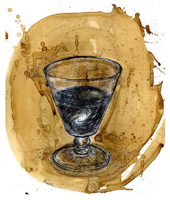 Glass of Universe