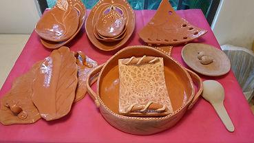 Utilitários em cerâmica
