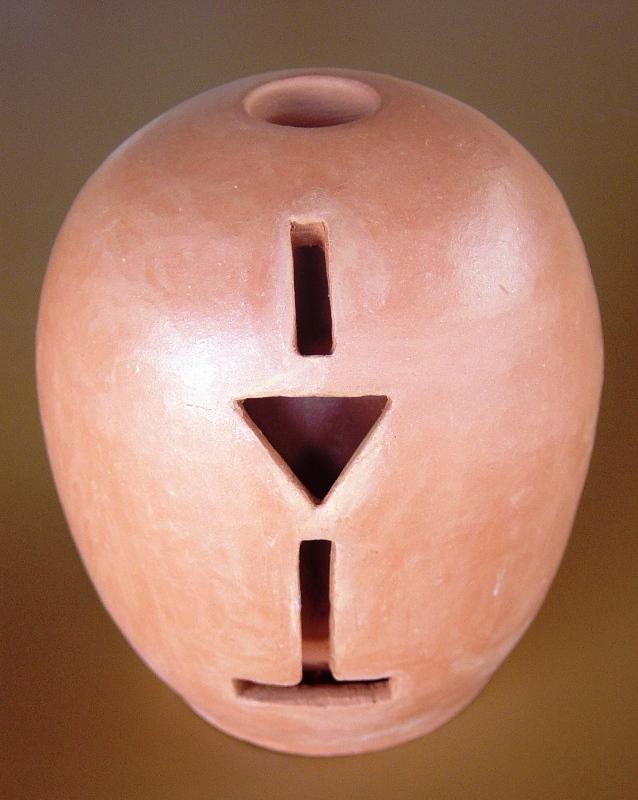 Vaso duplo texturizado