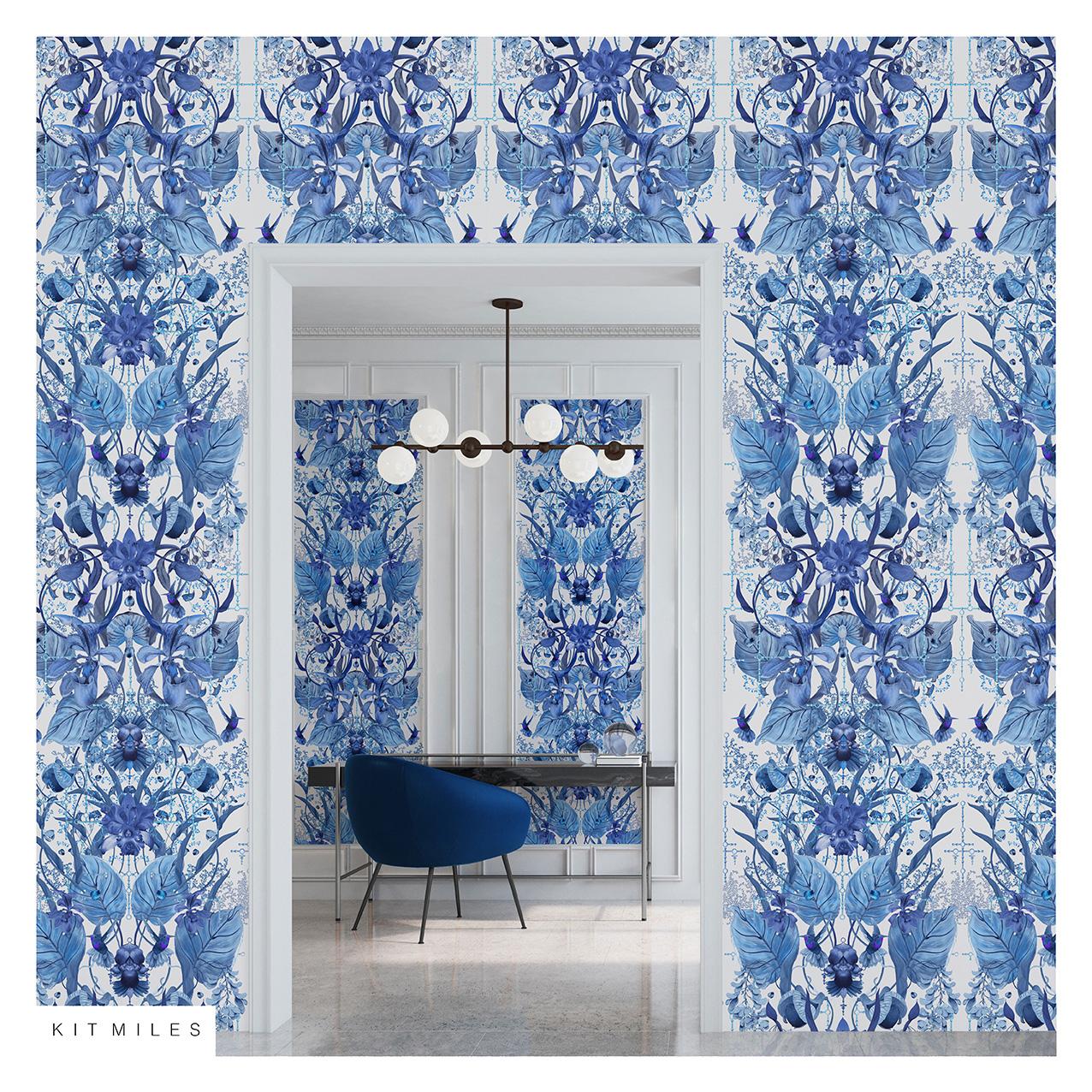 Ultraviolet Garden Blue RSV S