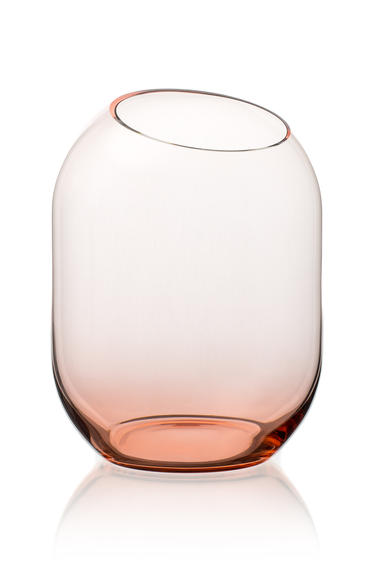váza Bobuľka ružová