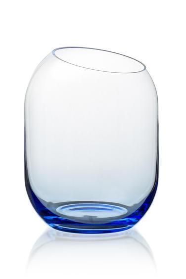 váza Bobuľka modrá
