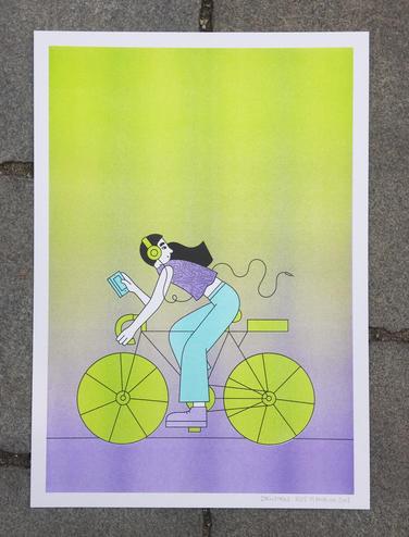 Cyklistka 3