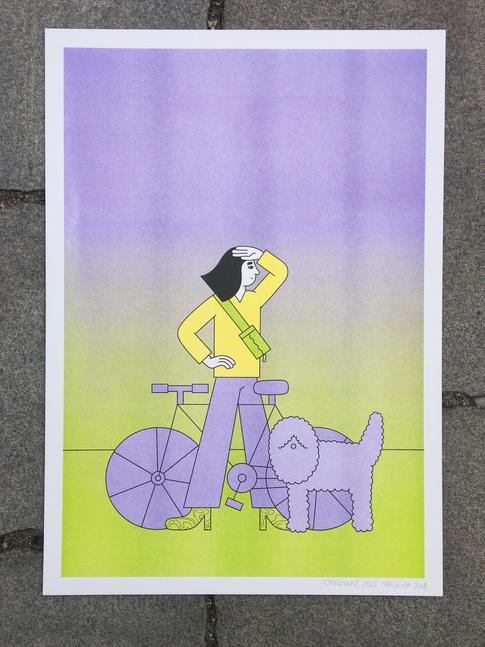 Cyklistka 2