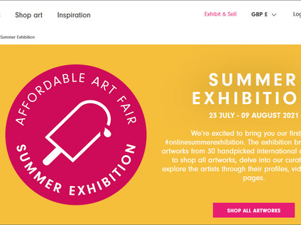 AAF Summer Exhibition (23 July - 09 August)