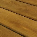 Terrasse bois pin autoclave brun en vente à Nancy Lorraine.
