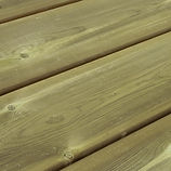 Terrasse bois pin autoclave vert en vente à Nancy Lorraine.