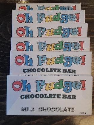 Six pack of Handmade Chocolate Bars