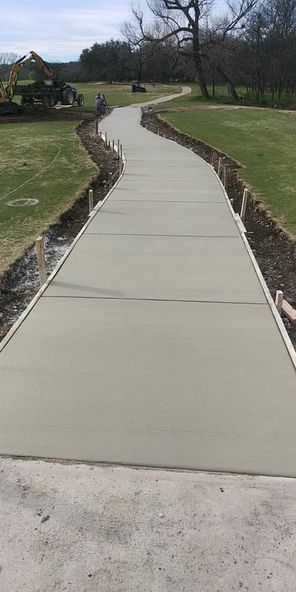 Sidewalks Silverhorn Golf Course
