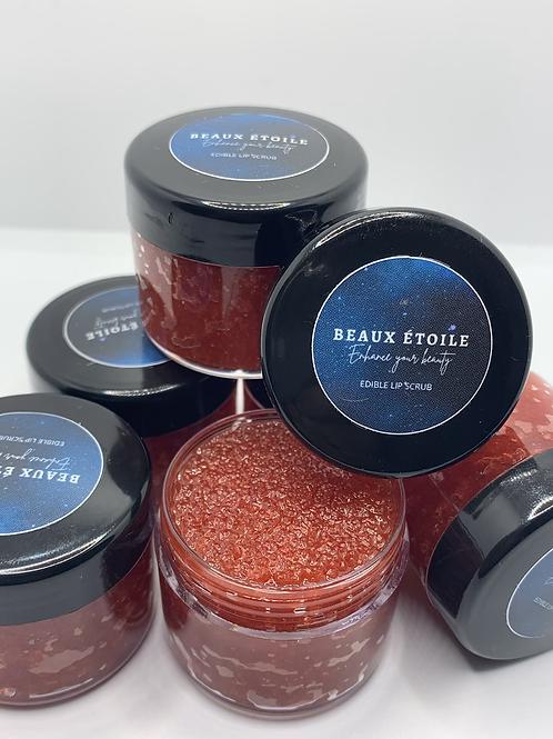 Strawberry Edible Lip Scrub