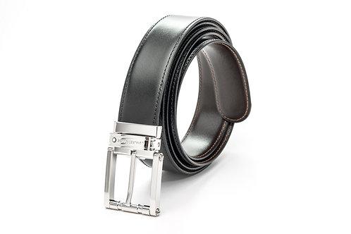 MONTBLANC | Reversible Calfskin Leather Belt 105092