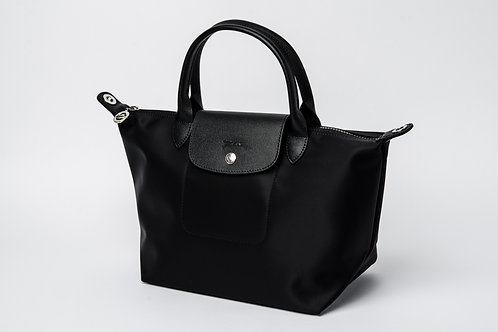LONGCHAMP   Le Pliage Neo Hand Bag Black (Small)
