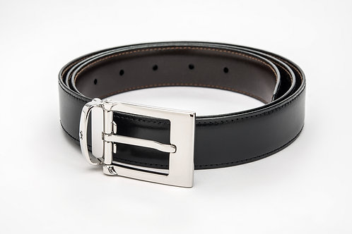 MONTBLANC | Reversible Calfskin Leather Belt 9774