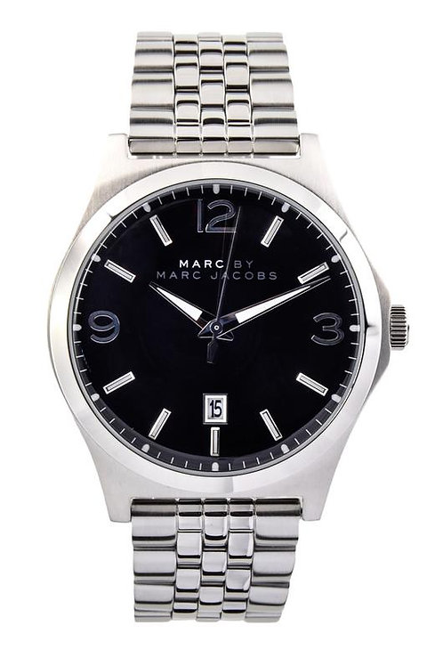 Marc by Marc Jacob | Danny Black Dial Stainless Steel Men's Watch