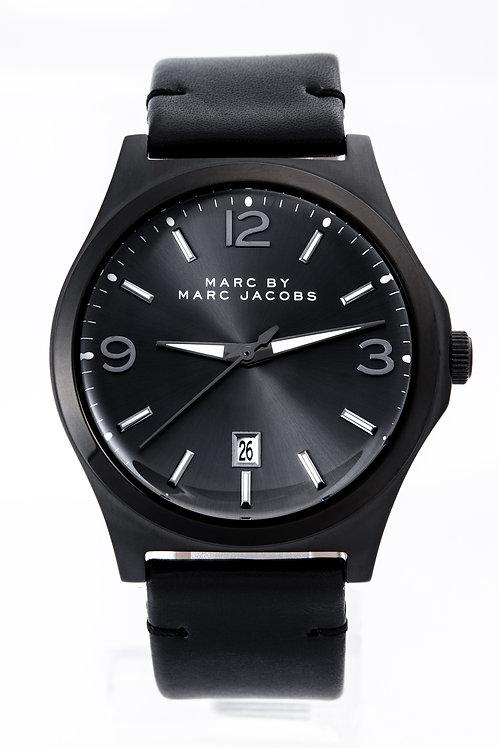 Marc by Marc Jacob | Danny Black Dial Black Leather Men's Watch