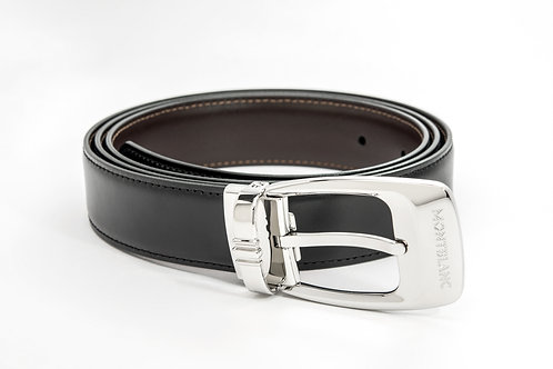 MONTBLANC | Casual Reversible Leather Belt Black/Brown 106149