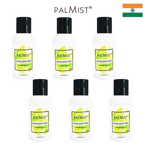 PALMIST - 免洗80%酒精搓手液50ml Signature香味 6枝裝