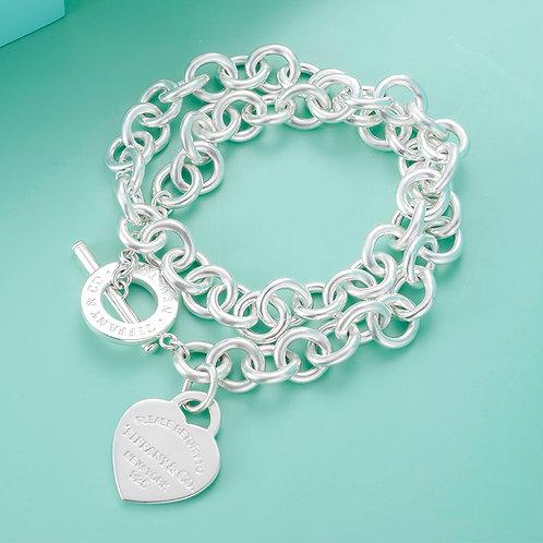 TIFFANY & Co. |  Return to Tiffany Heart Tag Toggle Necklace