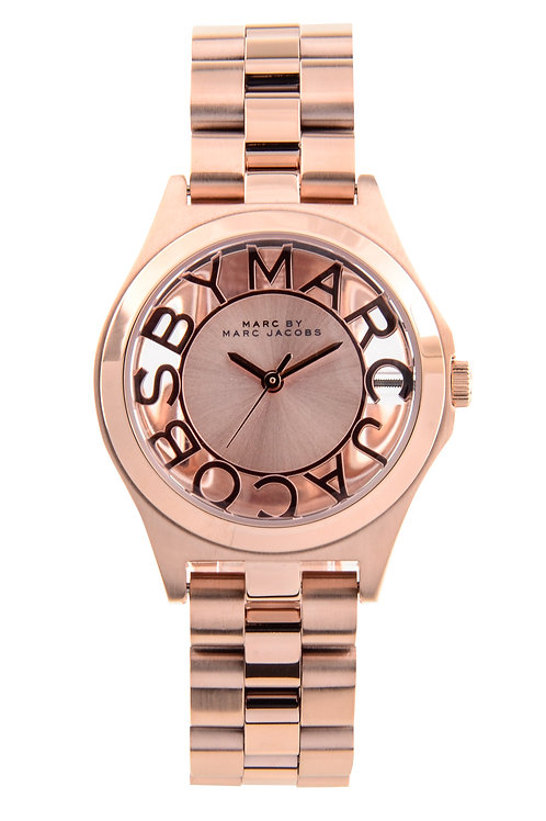MARC JACOBS   Henry Rose Dial Ladies Watch