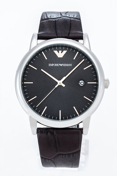 Emporio Armani | Mens Brown Leather Watch