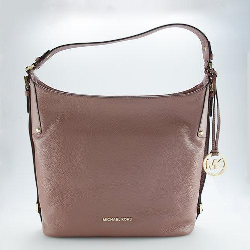 MICHAEL KORS   Bedford Dusty Rose Large Shoulder Bag