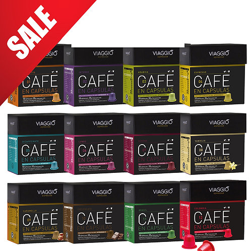 【MEGA SALES】Mix Collection | Coffee Capsules Pack(120 capsules) VEpackage-12