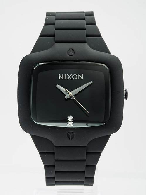 Nixon | The Player Black/ Rubber Watch