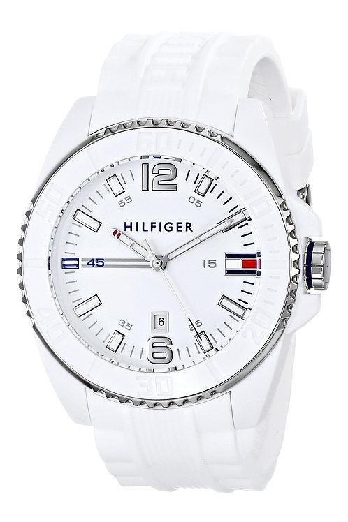 Tommy Hilfiger | Owen White Silicone Strap Watch