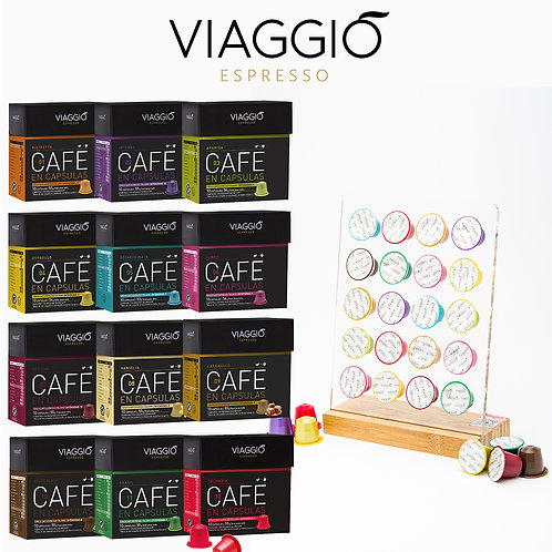 Package of Coffee Capsules Base with Capsules | ( 120 Coffee Capsules & Capsules